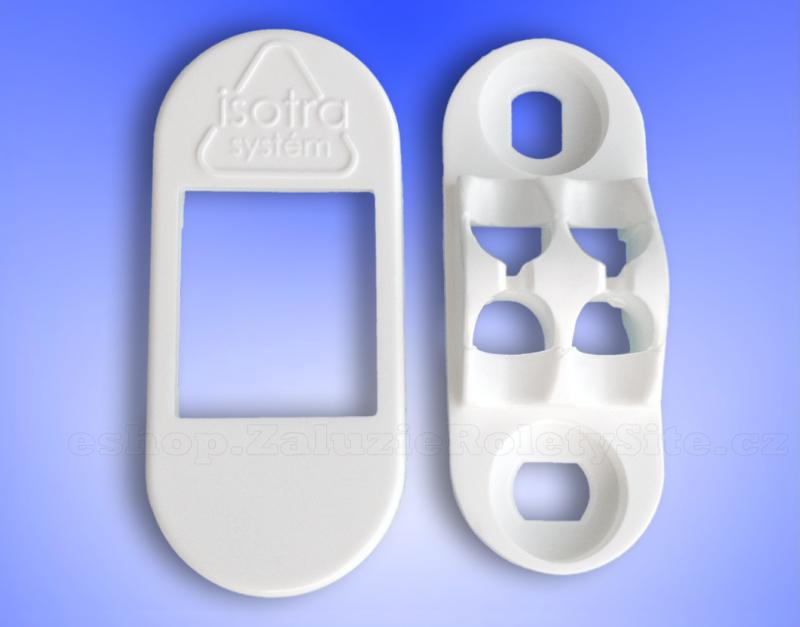 Univerzální držák pro uchycení řetízků horizontálních žaluzií